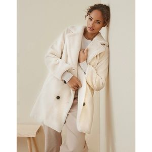 Sherpa oversized coat teddy over coat
